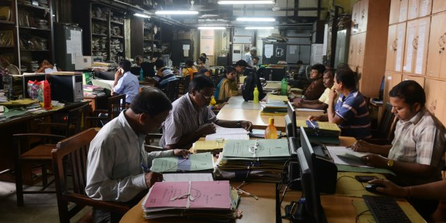 INDIA-LABOUR-STRIKE-UNION-EMPLOYMENT